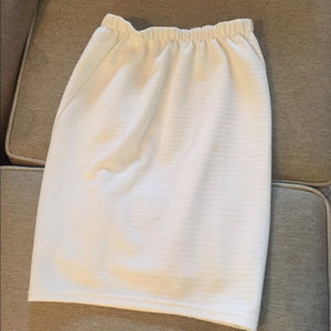 Dresses & Skirts - Francesca's white pencil skirt